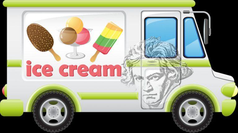 Beethoven Selling Ice Cream